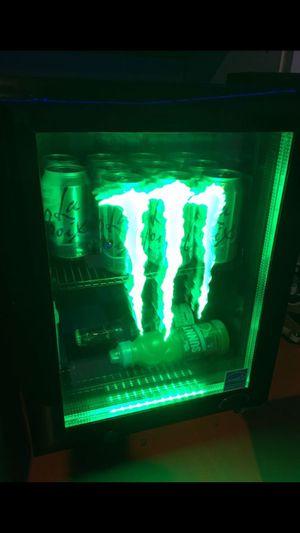 Monster mini fridge- rare - man cave $400 firm for Sale in Chula Vista, CA