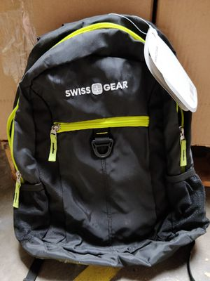 Swiss Gear black lightweight backpack comfy pouches for Sale in Phillips Ranch, CA