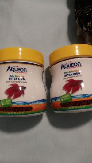 Betta fish food/bloodworm treats for Sale in Massillon, OH