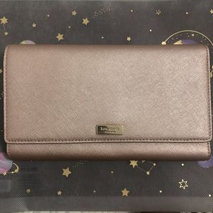 Kate Spade Champagne Blush Travel Wallet/Clutch for Sale in Waipahu, HI