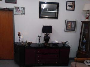 Purple & Black (3) Drawer & (2) Door Storage Bedroom Dresser for Sale in BRECKNRDG HLS, MO
