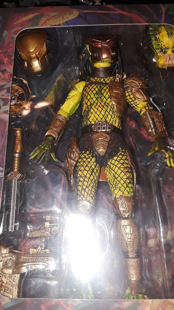 Predator figure toy