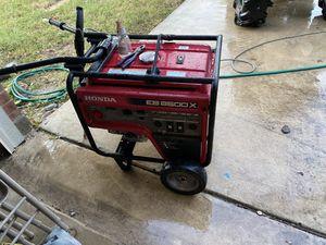 Eb6500x honda generator for Sale in San Antonio, TX