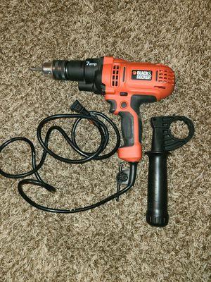 Black & Decker 7 amp Drill for Sale in Lincoln, NE