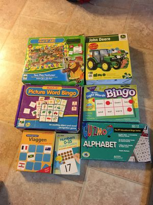 Kids games and puzzles for Sale in Hillsboro, OR