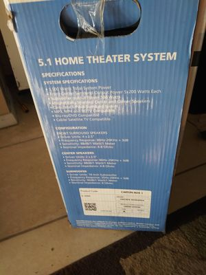 Home entertainment system C2000 Carera for Sale in Sarasota, FL