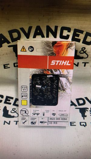 """New Stihl 25"""" yellow chain for chainsaw for Sale in Miami Lakes, FL"""