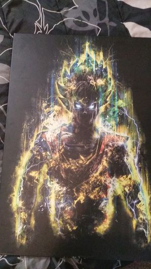Dragon ball Z metal picture for Sale in Cleveland, OH