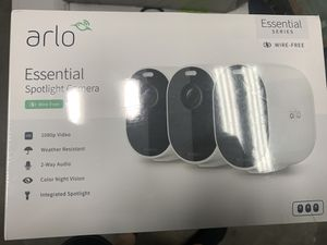 NEW arlo essential 3 camera security kit for Sale in Midlothian, VA