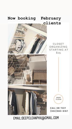 Closet organizing for Sale in Phoenix, AZ