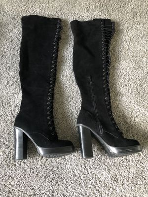 Sexy knee high boots- ALDO size 7.5 for Sale in Hoffman Estates, IL