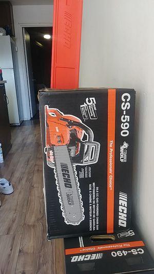 echo cs 590 gas chainsaw for Sale in Carmichael, CA