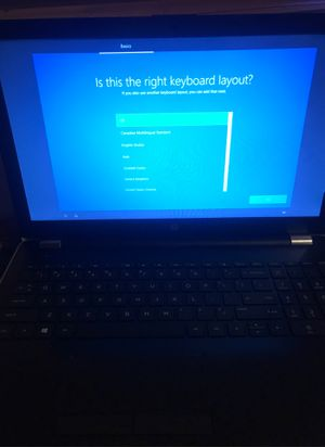 Hp laptop touchscreen come with charger and travel case for Sale in Kennewick, WA