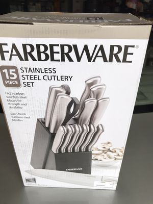 Stainless steel cutlery set for Sale in Renton, WA