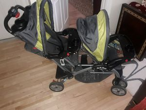 Baby Trend Sit N Stand Ultra Double Stroller for Sale in Boston, MA