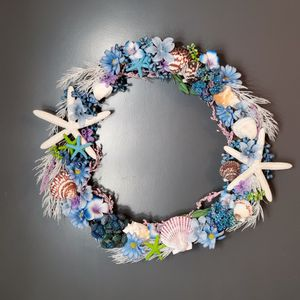 Beautiful Handcrafted Summer/Beach Wreath for Sale in Sunbury, PA