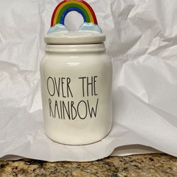 Rae Dunn Over The Rainbow Canister for Sale in Houston,  TX