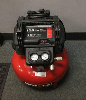 Porter cable compressor 6 gallon for Sale in Chicago, IL