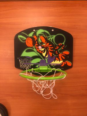 Tigger Door/waste basket Basketball Hoop for Sale in Raleigh, NC