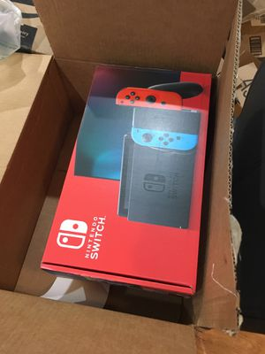 Nintendo Switch with Neon Blue and Neon Red Joy-con for Sale in Lakewood Township, NJ