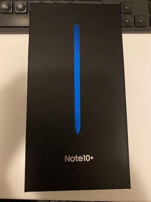 Samsung Galaxy Note 10+ - Verizon - 256GB - Blue for Sale in Aurora, CO