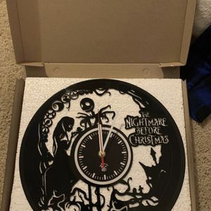 Nightmare Before Christmas Custom Vinyl Clock for Sale in Newport Beach, CA
