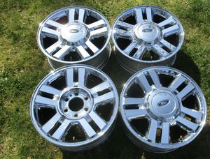"18"" OEM Ford Chrome Clad Wheels ('08-15')_King Ranch for Sale in Smyrna, GA"