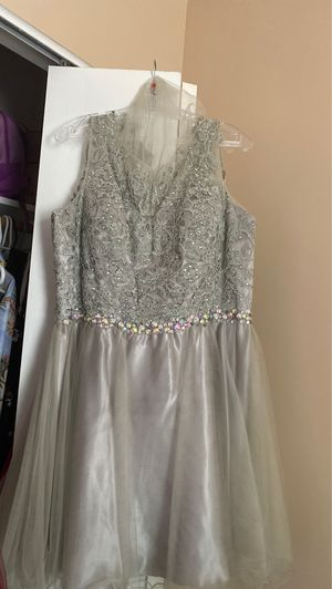 Formal dress (Silver) size XXXL for Sale in Baltimore, MD