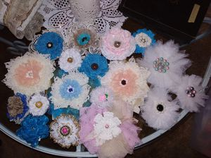 Handcrafted flowers for Sale for sale  US