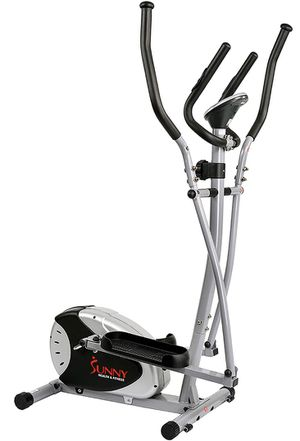 Sunny Health & Fitness SF-E905 Elliptical Machine Cross Trainer with 8 Level Resistance and Digital Monitor for Sale in Smyrna, GA
