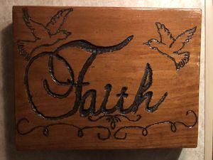 Wooden Frame Faith for Sale in Clarksburg, WV
