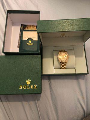 Gold Watch Diamond Bezel for Sale in Corona, CA