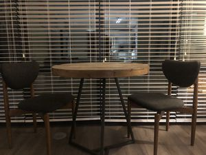 West Elm Cafe Table & Two Chairs for Sale in Washington, DC