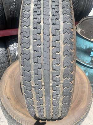 (5)235/80/16 TRAILER TIRES GOOD CONDITION (Used) for Sale in Stockton, CA