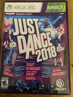 XBOX 360 Just Dance 2018 game for Sale in Holly Springs, NC