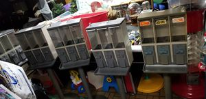 Triple candy and gumball machines (5) for Sale in Utica, MI