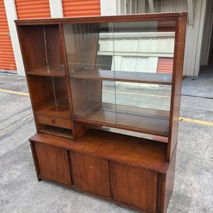 Solid Wood Vintage Hooker Brand China Hutch for Sale in Spring, TX