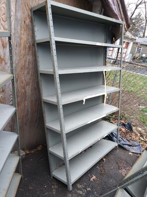 Metal shelving Iron 6ft x1ft 4ft for Sale in Irvington, NJ