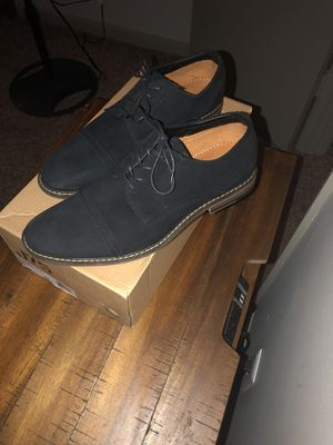 Black suede dress shoes for Sale in Anchorage, KY