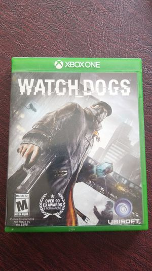 Watch dog Xbox one game for Sale in Edgewater, MD