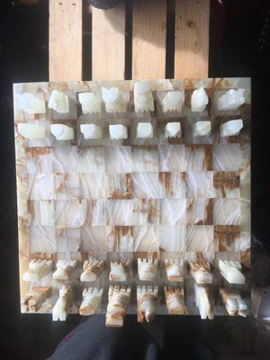 Hand made marble chess set for Sale in San Jose, CA