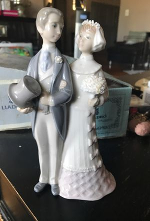 Lladro wedding figurine 4808 retired for Sale in Buena Park, CA