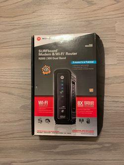Motorola Modem & WiFi N300 Router for Sale in Punta Gorda,  FL