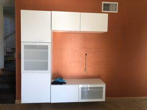 Wall mounted TV Media Console Stand shelves for Sale in Claremont, CA