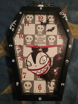 Nightmare before Christmas Clock for Sale in Tacoma,  WA