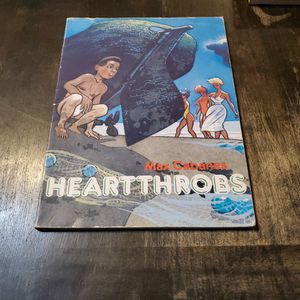 Heart Throbs Max Cabanas First Print 1991 Catalan Graphic Novel for Sale in Fresno, CA