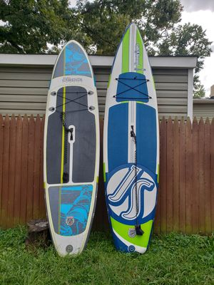 2 Jimmy Styx inflatable paddle board for Sale in Edgewater, MD