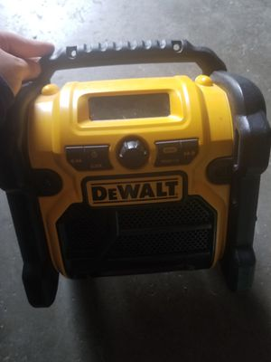 DeWALT radio for Sale in Aurora, CO
