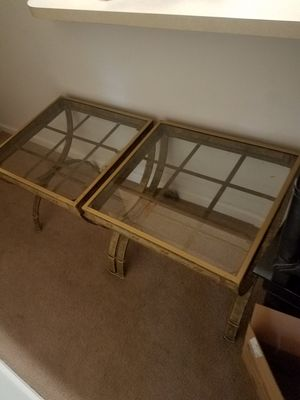 2 living room Tables for Sale in Kennesaw, GA