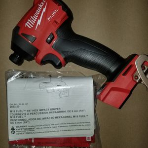New Milwaukee m18 Impact Hex Fuel for Sale in FL, US